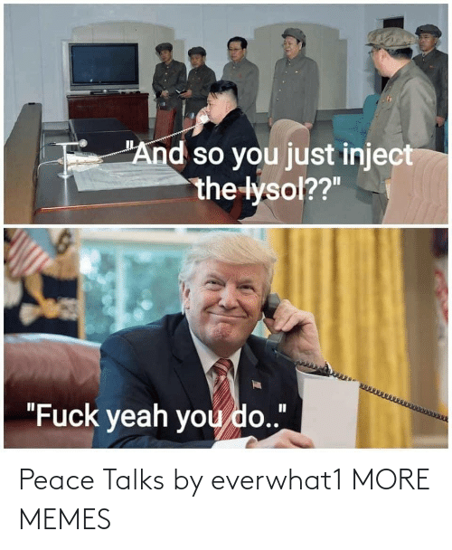 Talks: Peace Talks by everwhat1 MORE MEMES