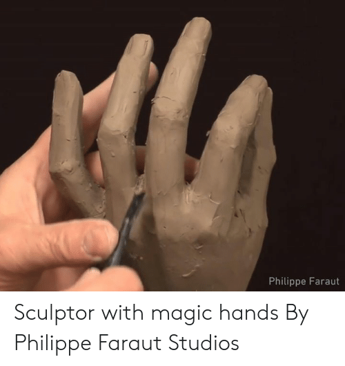 Dank, Magic, and 🤖: Philippe Faraut Sculptor with magic hands  By Philippe Faraut Studios