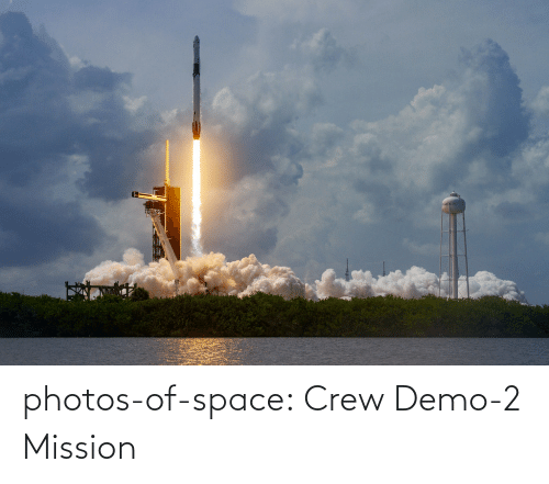 Space: photos-of-space:  Crew Demo-2 Mission