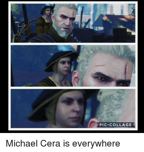Michael Cera, Collage, and Michael: PIC.cOLLAGE Michael Cera is everywhere