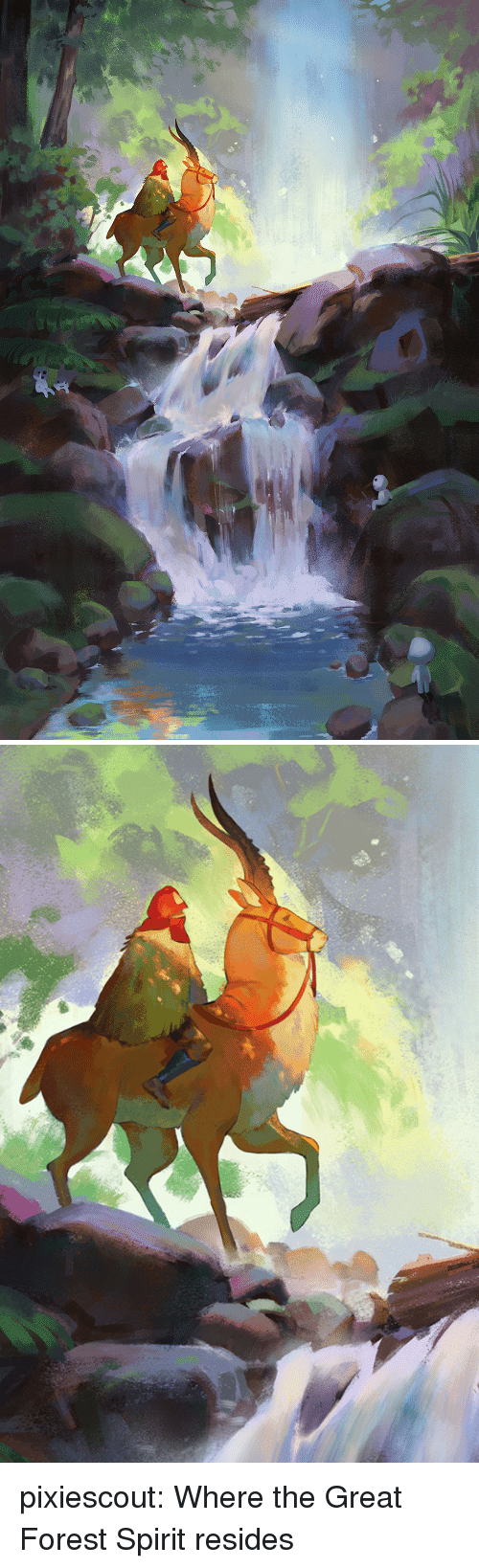 Target, Tumblr, and Blog: pixiescout: Where the Great Forest Spirit resides