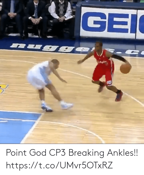 God: Point God CP3 Breaking Ankles!! https://t.co/UMvr5OTxRZ