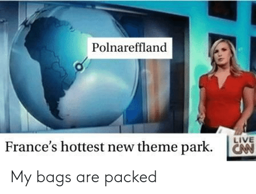 Polnareffland LIVE France's Hottest New Theme Park My Bags Are
