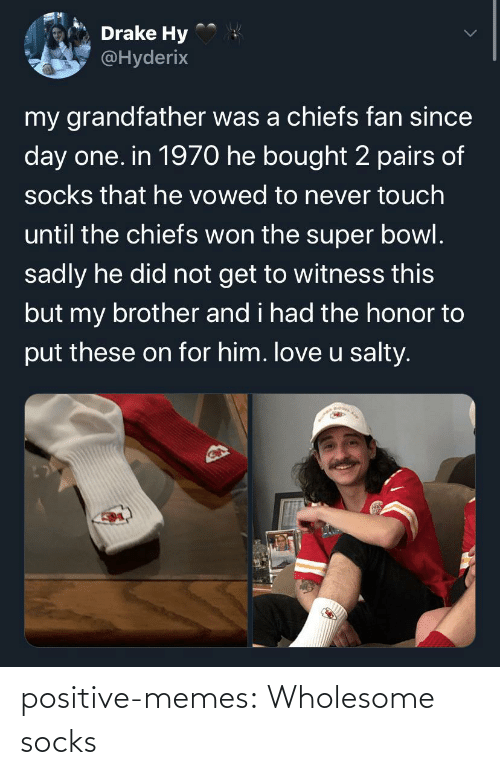 Memes, Target, and Tumblr: positive-memes:  Wholesome socks