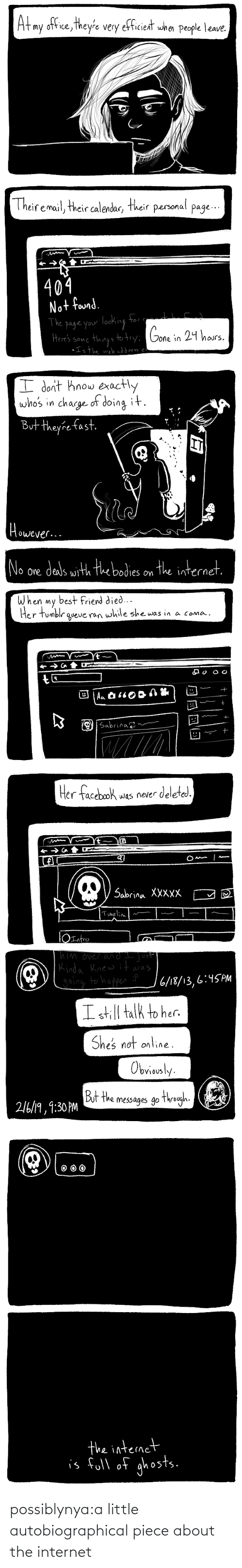 Little: possiblynya:a little autobiographical piece about the internet