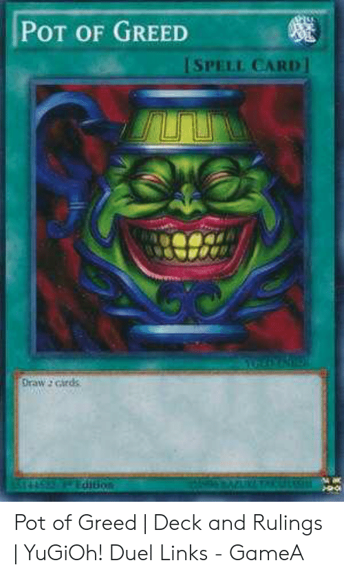🐣 25+ Best Memes About Pot of Greed Deck | Pot of Greed