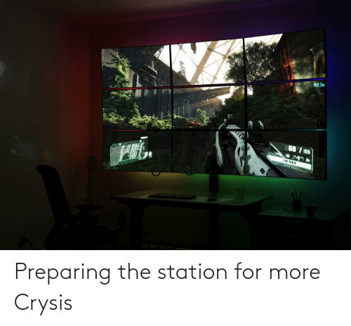 station: Preparing the station for more Crysis