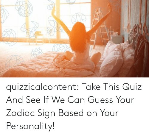 See If: quizzicalcontent:  Take This Quiz And See If We Can Guess Your Zodiac Sign Based on Your Personality!