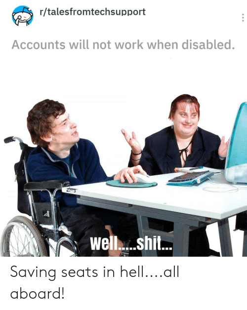 Rtalesfromtechsupport Accounts Will Not Work When Disabled