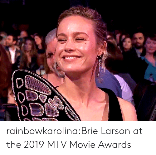 MTV: rainbowkarolina:Brie Larson at the 2019 MTV Movie Awards