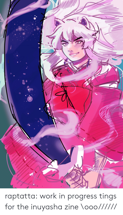 Target, Tumblr, and Work: raptatta: work in progress tings for the inuyasha zine \ooo//////