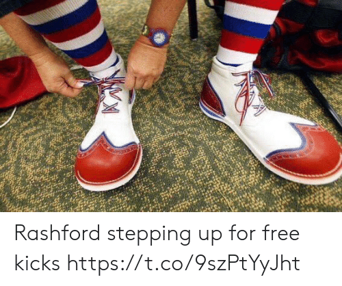Soccer, Free, and For: Rashford stepping up for free kicks https://t.co/9szPtYyJht