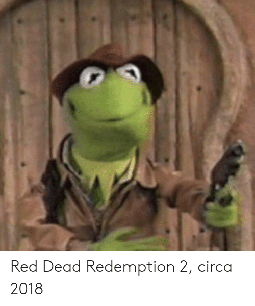 Red Dead Redemption, Red Dead, and Red: Red Dead Redemption 2, circa 2018
