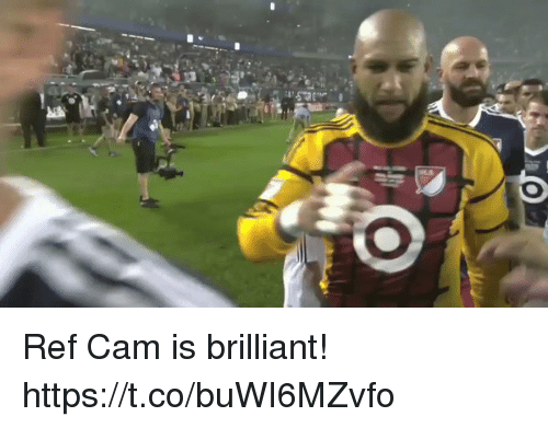Camming: Ref Cam is brilliant! https://t.co/buWI6MZvfo