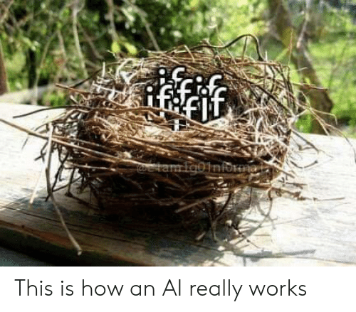 How, Works, and This: Rffif  resetam Igbiniorma. This is how an AI really works