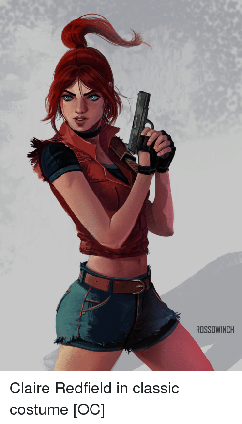Claire Redfield, Costume, and Classic: ROSSOWINCH Claire Redfield in classic costume [OC]