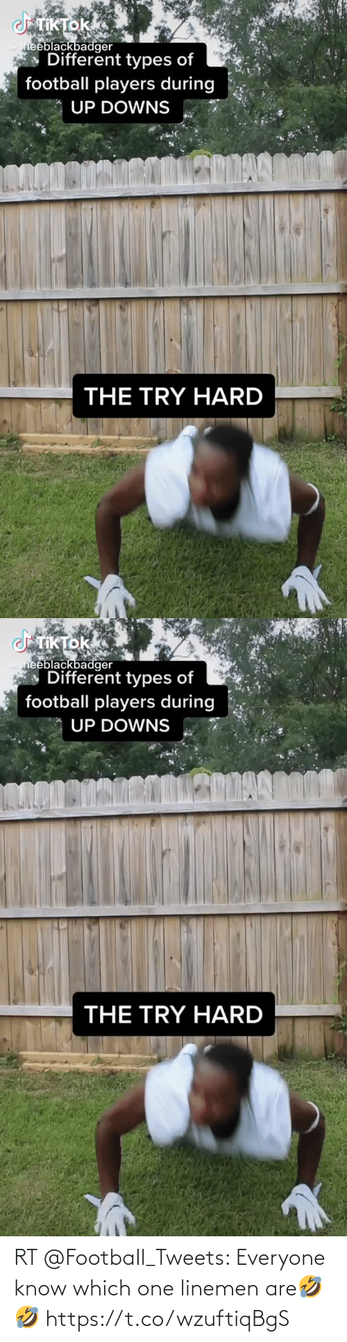 everyone: RT @FootbaIl_Tweets: Everyone know which one linemen are🤣🤣 https://t.co/wzuftiqBgS