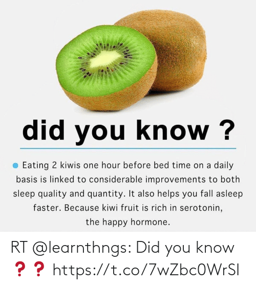 You Know: RT @learnthngs: Did you know ❓❓ https://t.co/7wZbc0WrSI