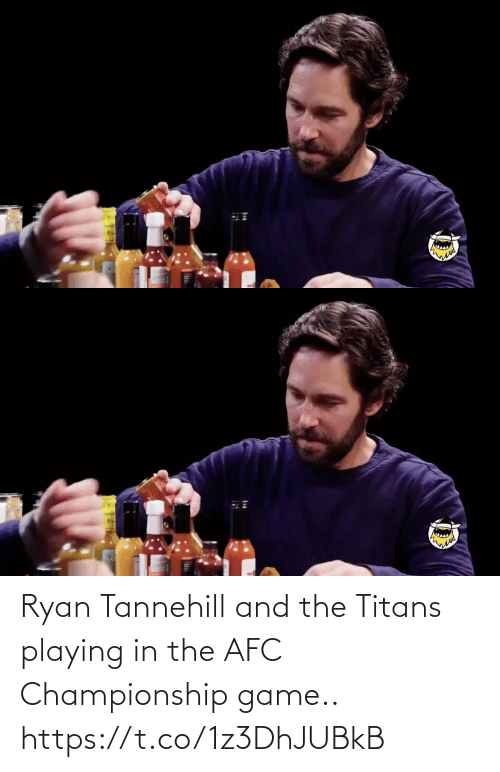 Game: Ryan Tannehill and the Titans playing in the AFC Championship game.. https://t.co/1z3DhJUBkB