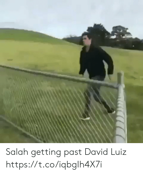 Memes, David Luiz, and 🤖: Salah getting past David Luiz  https://t.co/iqbgIh4X7i
