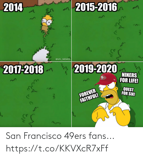 Francisco: San Francisco 49ers fans... https://t.co/KKVXcR7xFf