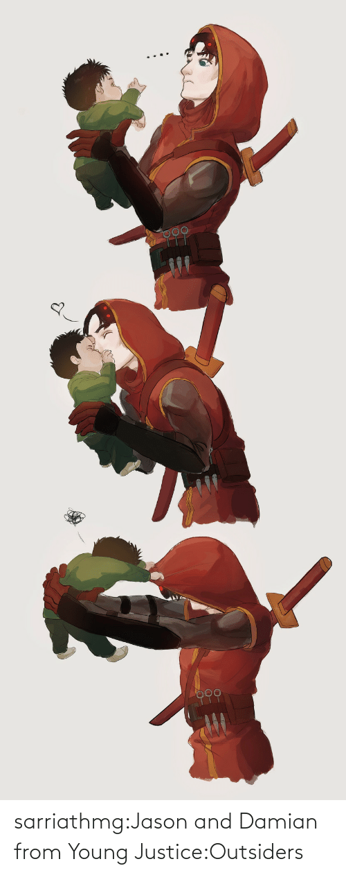 A Href: sarriathmg:Jason and Damian from Young Justice:Outsiders