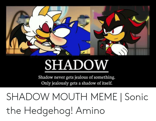 🐣 25+ Best Memes About Shadow the Hedgehog Meme | Shadow the