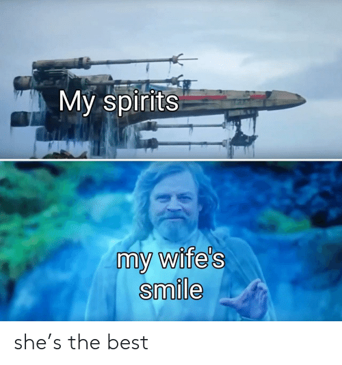 Best: she's the best