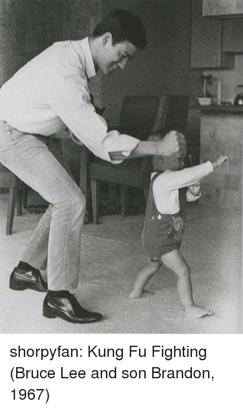 kung fu: shorpyfan:  Kung Fu Fighting (Bruce Lee and son Brandon, 1967)