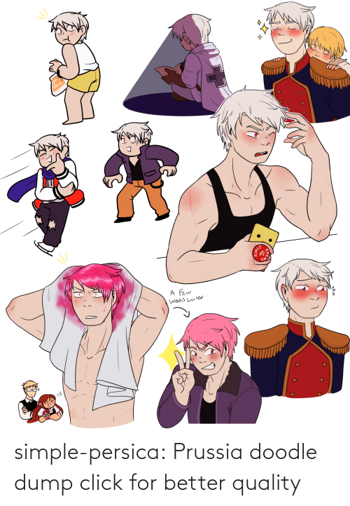 Doodle: simple-persica: Prussia doodle dump click for better quality
