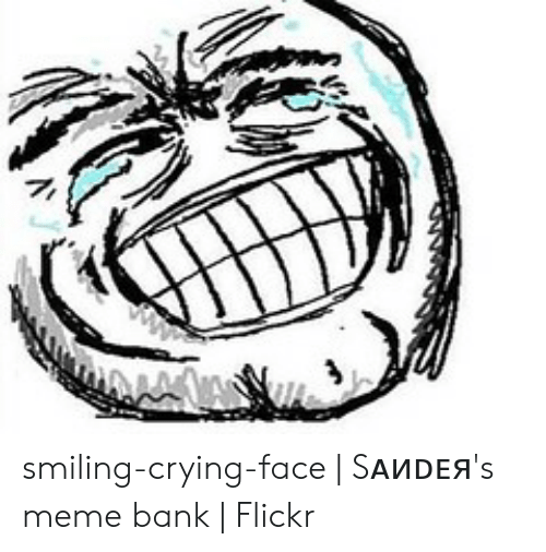 Crying Meme Face Png
