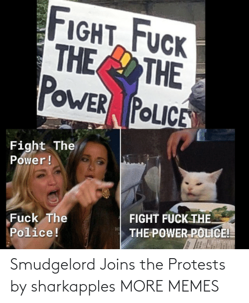 Protests: Smudgelord Joins the Protests by sharkapples MORE MEMES