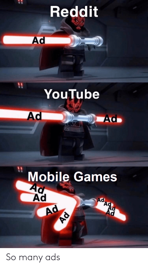 So Many: So many ads