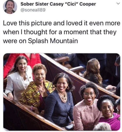 """mountain: Sober Sister Casey """"Cici"""" Cooper  @soneall89  Love this picture and loved it even more  when I thought for a moment that they  were on Splash Mountain"""