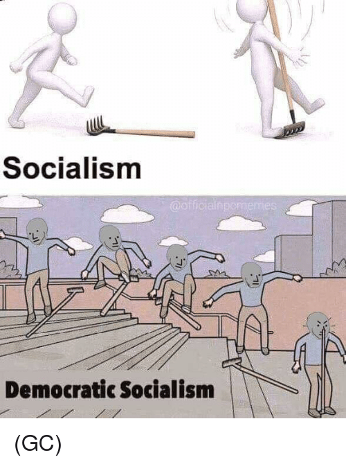 Memes, Socialism, and 🤖: Socialism  Democratic Socialism (GC)