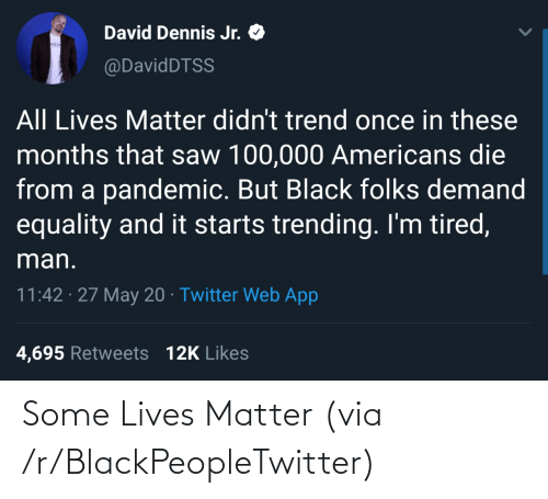 blackpeopletwitter: Some Lives Matter (via /r/BlackPeopleTwitter)