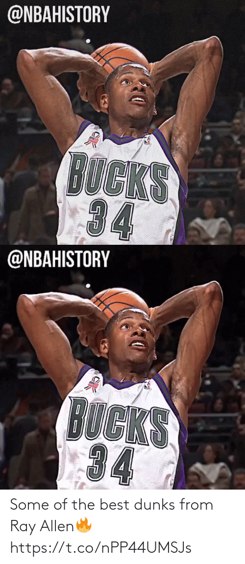 From: Some of the best dunks from Ray Allen🔥 https://t.co/nPP44UMSJs