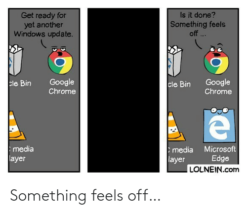 Off: Something feels off…