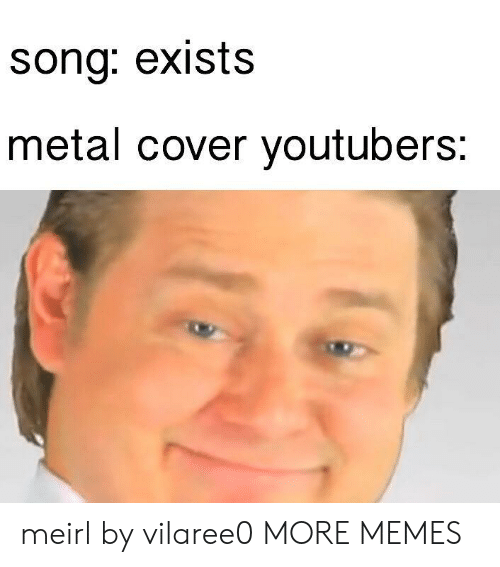 Dank, Memes, and Target: sona: exists  metal cover youtubers; meirl by vilaree0 MORE MEMES
