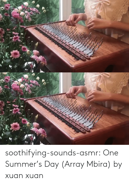 channel: soothifying-sounds-asmr: One Summer's Day (Array Mbira) by xuan xuan