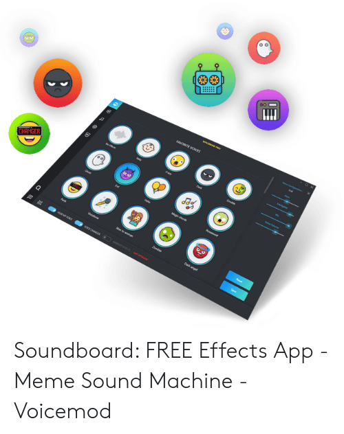 Soundboard FREE Effects App - Meme Sound Machine - Voicemod