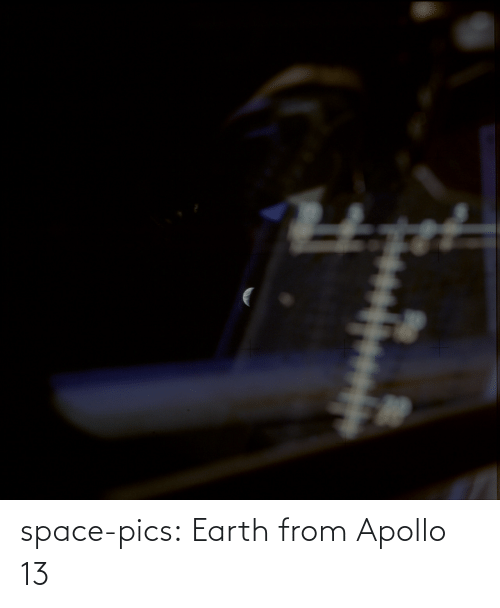 Earth: space-pics:  Earth from Apollo 13