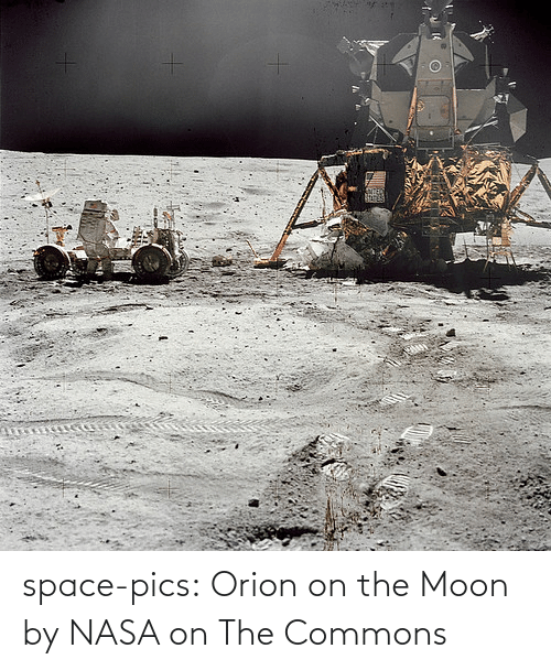 NASA: space-pics:  Orion on the Moon by NASA on The Commons