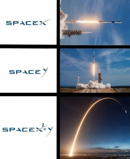 Spacex: SPACEX  SPACE  2  SPACE%=