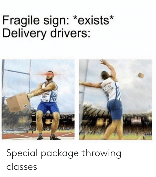 package: Special package throwing classes