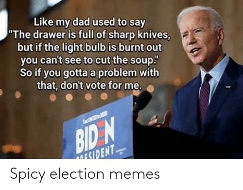 election: Spicy election memes