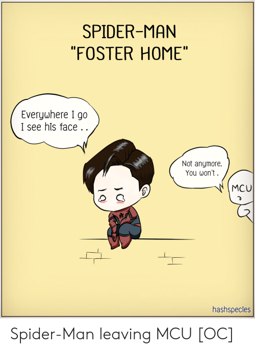 """Spider, SpiderMan, and Home: SPIDER-MAN  """"FOSTER HOME""""