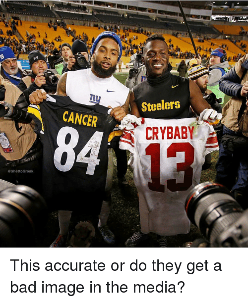 Bad, Sports, and Cancer: Steelers  CANCER  CRYBABY  @GhettoGronk This accurate or do they get a bad image in the media?