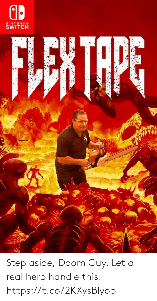 doom: Step aside, Doom Guy. Let a real hero handle this. https://t.co/2KXysBlyop