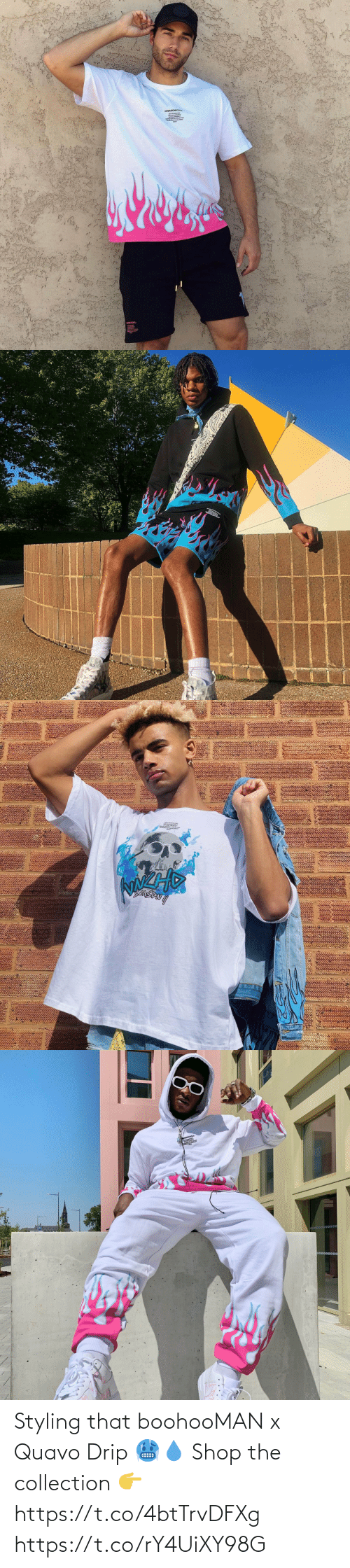 drip: Styling that boohooMAN x Quavo Drip 🥶💧  Shop the collection 👉 https://t.co/4btTrvDFXg https://t.co/rY4UiXY98G